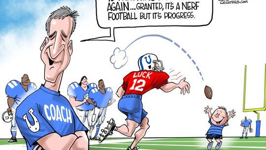 """Colts get """"Lucky."""""""