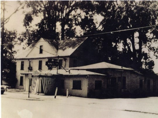 An old snapshot shows the former Tiny's Bengel Inn.