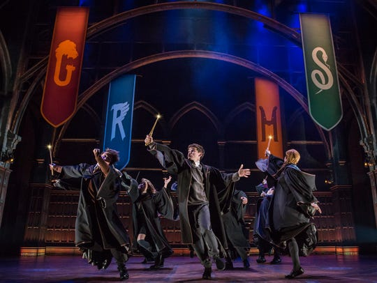 "A scene from ""Harry Potter and the Cursed Child."""