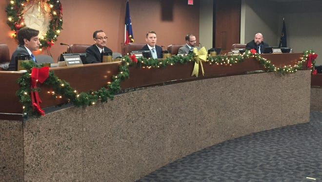 El Paso County Court commissioners hold the last meeting of 2017.