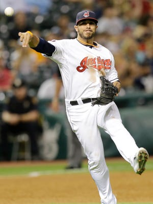 Cleveland Indians'' Mike Aviles.