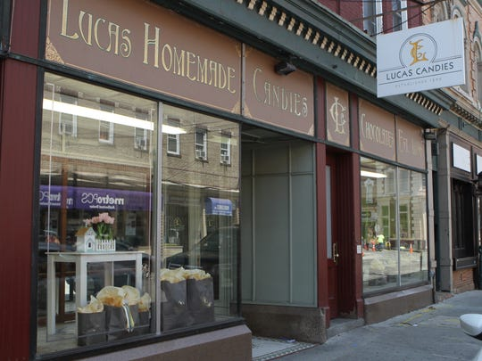 Lucas Homemade Candies & Chocolates on Main St. in Haverstraw. Friday, July 21, 2017.