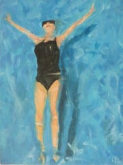 """""""Floating,"""" by Anna West."""
