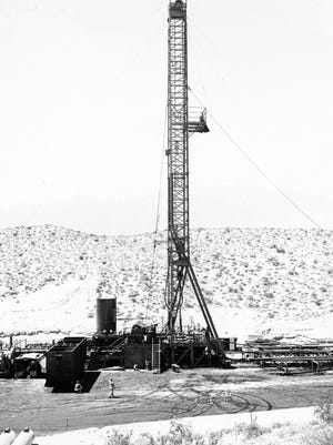 Fullview Drilling Rig on Edom Hill.