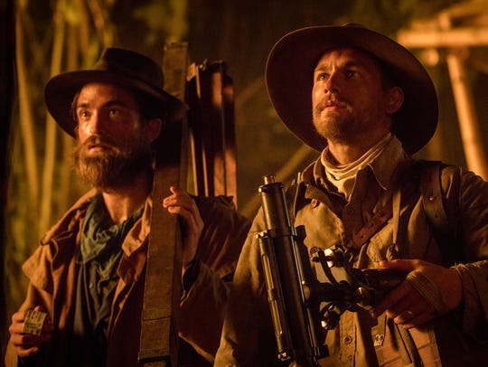 Robert Pattinson plays the aide-de-camp to Percy Fawcefft
