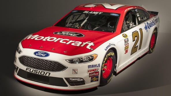 Wood Brothers will field the No. 21 Ford Fusion this