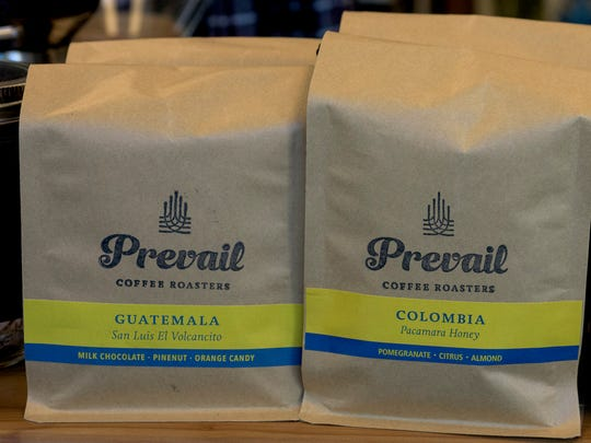 Prevail Union coffee roasters at One Court Square in