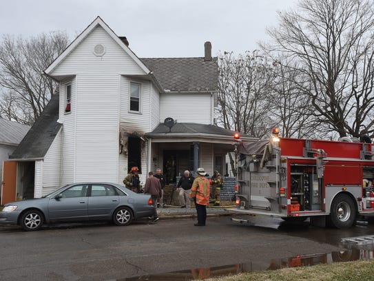 The Chillicothe Fire Department responded to a structure