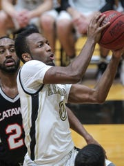 Anderson sophomore guard Randall Shaw scored a career-high 45 points Wednesday night at Brevard.
