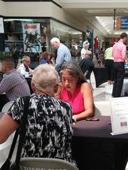 Attorney Annette Lyn advises at last year's Law in the Mall event.