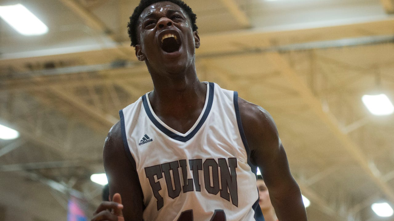 Boys basketball Highlights: Fulton vs Scott