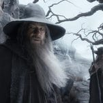 "Ian McKellen in a scene from ""The Hobbit: The Desolation of Smaug."""