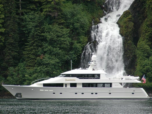 The Westport 130 tri-deck, first introduced in 2001,