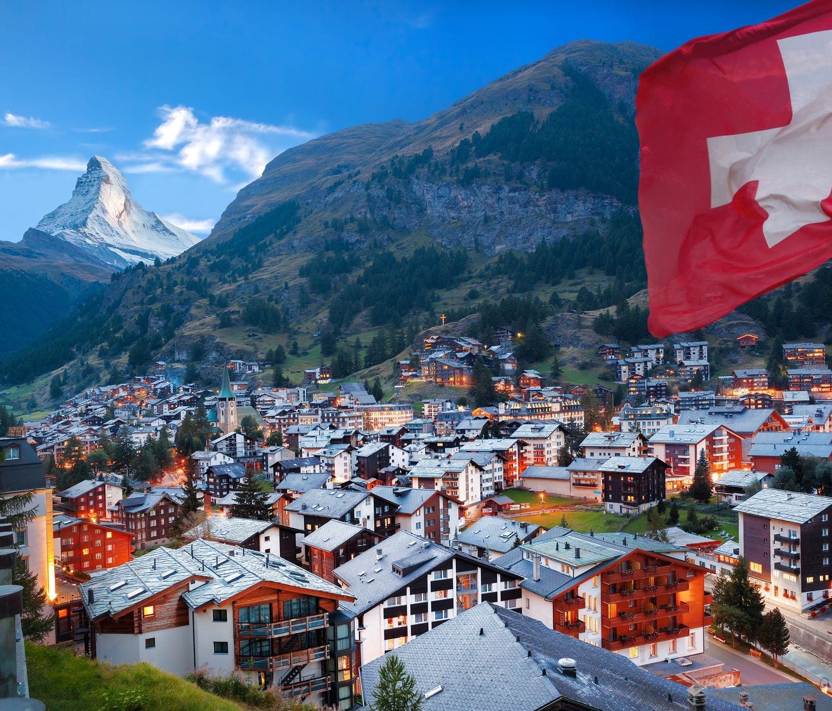3. Switzerland tied — 2nd. Visa-free travel permitted to 176 countries; Dual citizenship: Allowed; Annual int'l departures: 13.86 million (1.66 per capita); GDP per capita: $61,014