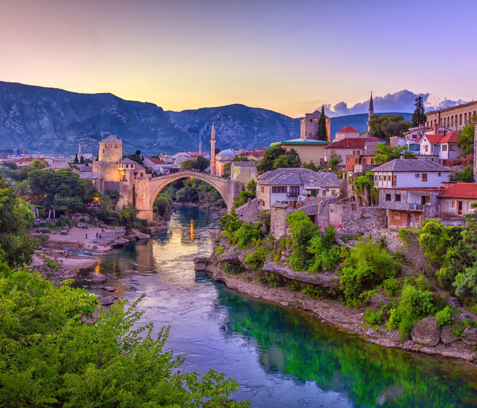 6. Bosnia and Herzegovina: 777,000international tourist arrivals.
