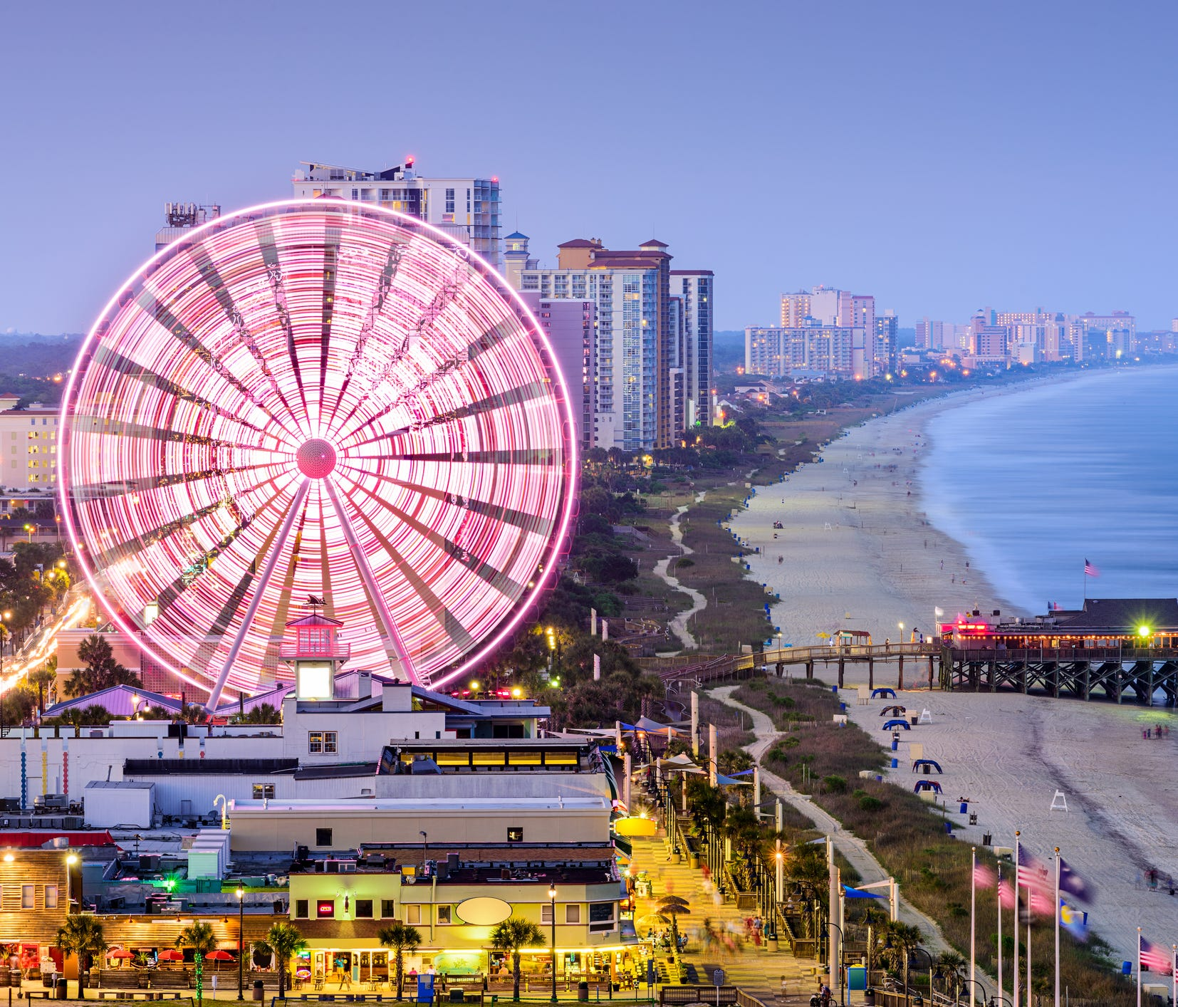 No. 8: Myrtle Beach, S.C.; 55.0. There's much more to this southeastern coastal favorite than golf. This lively city boasts high supply, low prices, and endless restaurants, bars and beaches.