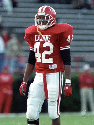 UL will officially honor Orlando Thomas on its helmet Saturday at UL Monroe.