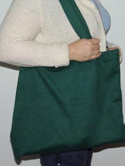 Local artisan Michelle Langan will sell her totes,