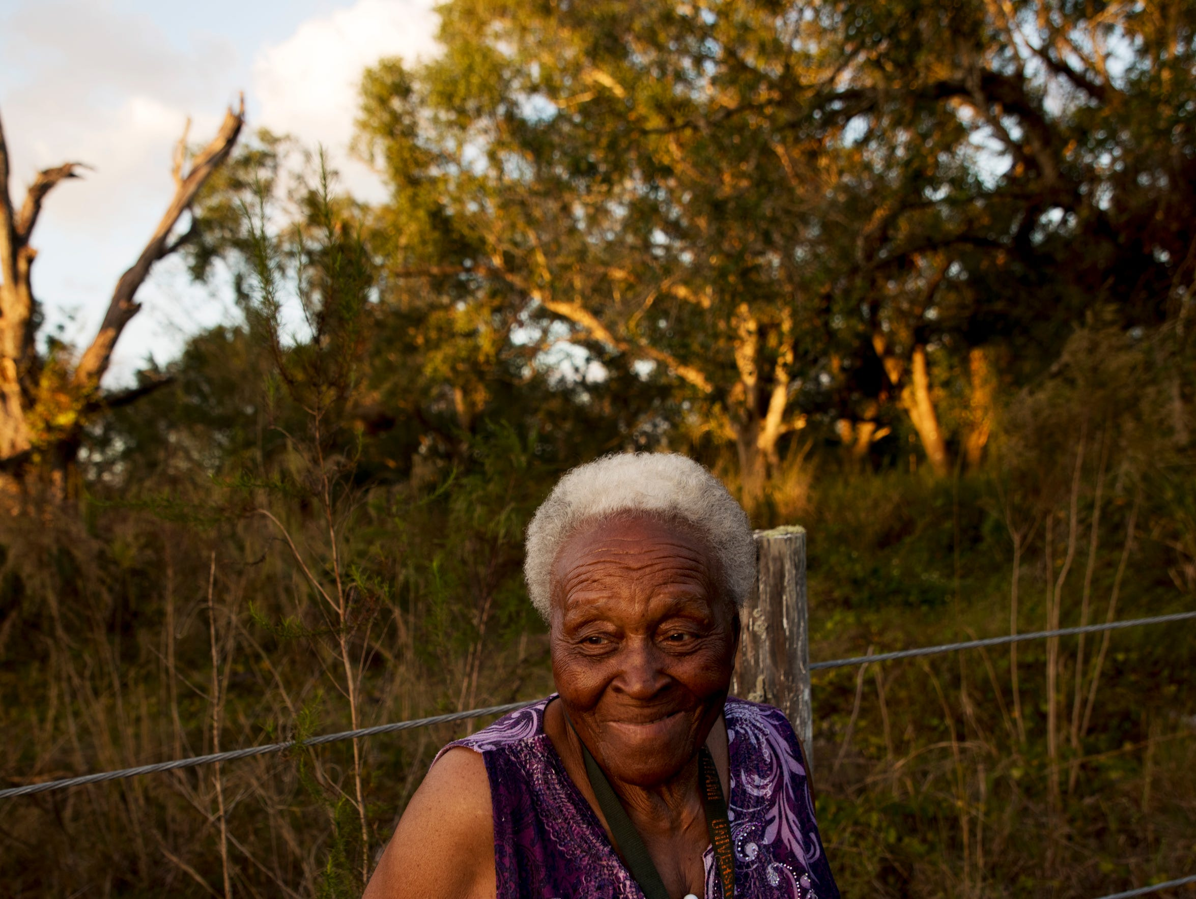Lois Freeman, a resident of Fort Myers who lives near