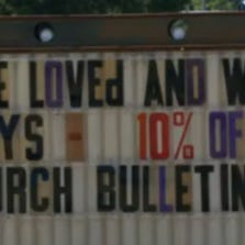 Bailey's Pizza in Searcy offers people who bring in their church bulletin a 10 percent discount on Sundays.