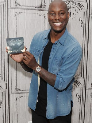 Tyrese Gibson attends AOL Build to discuss the video for his song 'Shame' in New York July 8.