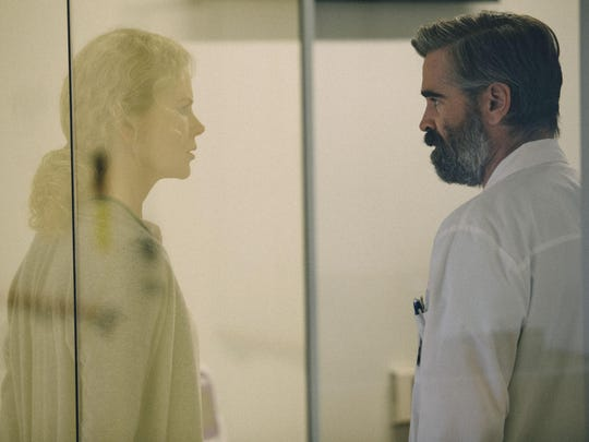 """Nicole Kidman and Colin Farrell in """"The Killing of"""