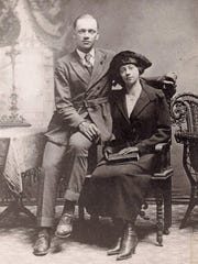 George Franklin White and Mary Eavers White.