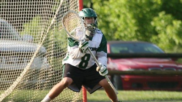 Christ School alum Jason Weber is now a sophomore goaltender