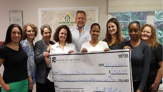 Anderson House has been a beneficiary of the RFCU annual golf outing for the past two years.