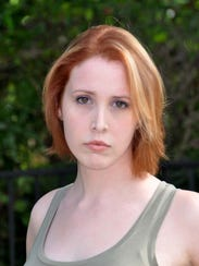 Dylan Farrow, daughter of Woody Allen and Mia Farrow.,