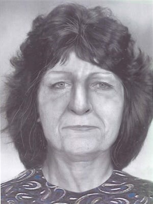 An artists sketch of a woman who was found dead in May 1984 in Vernon County. This year a pollen test on her clothing determined she likely came from Arizona or New Mexico.