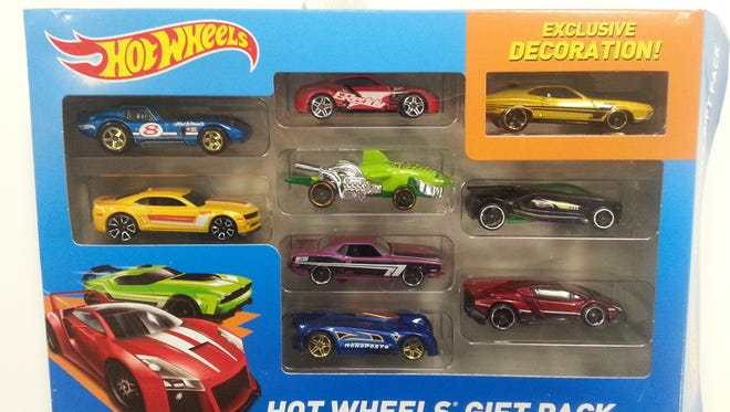 Hot Wheels Gift Pack is cited in the toxic-toy study.