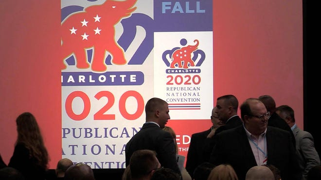 The Republican National Convention was to be held at Charlotte's Spectrum Center starting Aug. 24. Now, it's heading to Florida.