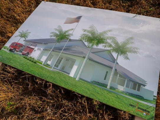 A rendering of the upcoming Fire Station 11 on Burnt