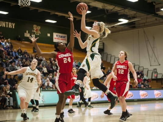 Cornell vs. Vermont Women's Basketball 12/30/14