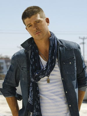 Robin Thicke will release an album entitled 'Paula' (as in Patton) on July 1.