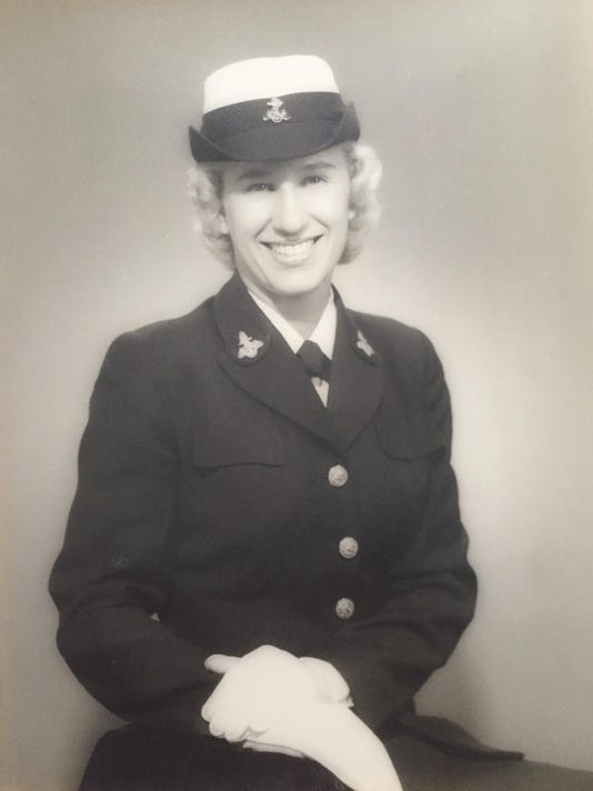 Daisy Boyer - in uniform
