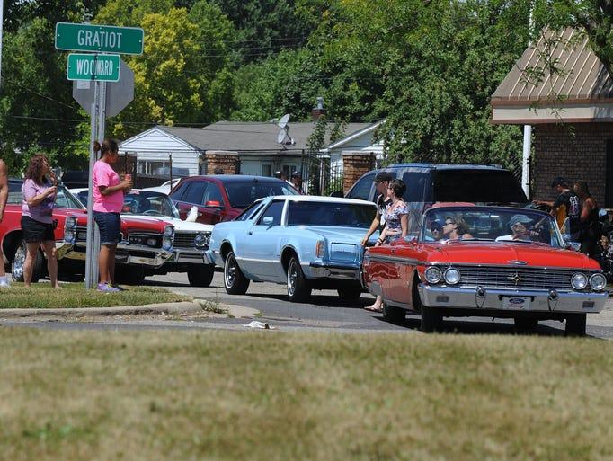 Belleville Michigan Car Show