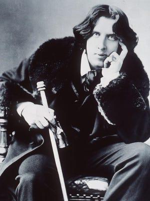 An 1882 photograph of Oscar Wilde.