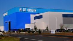 Blue Origin's New Glenn rocket factory at KSC's Exploration