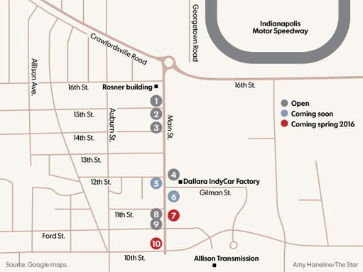 Speedway redevelopment means more restaurants and two
