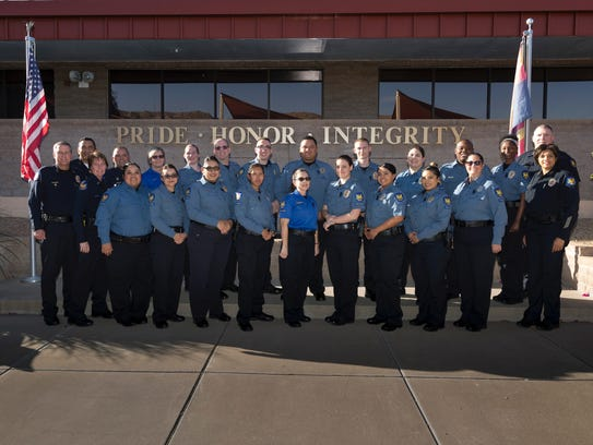 Phoenix police assistants are recognizable by their