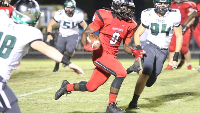 E'Quan Dorris and South Fort Myers will face Venice in a rematch of last year's Region 7A-3 quarterfinal on Friday.