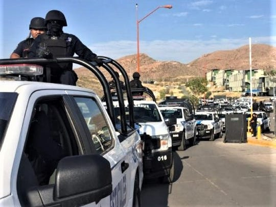 Additional Chihuahua state police forces were deployed