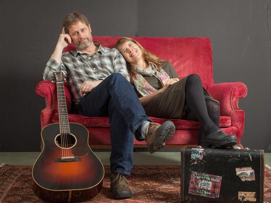 The Cabot-based duo Dana & Susan Robinson performs Sunday in Montpelier.