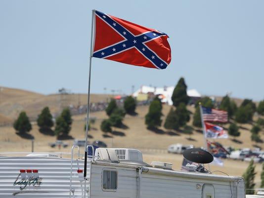 6-27-2015 nascar confederate flag sonoma