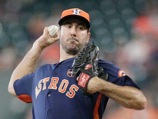 Justin Verlander is 5-0 with a 1.06 ERA in five starts since the trade.