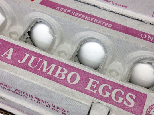 Egg producers were completely unprepared for the surge in retail demand in such a short of a time period.