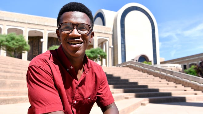 John Placide will graduate from Abilene Christian University Saturday and plans to go to medical school.