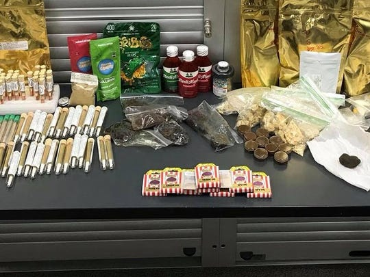 Ramapo police said they found more than 2 pounds of